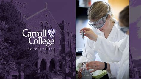 carroll awards scholarships carroll college