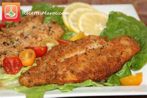 cuisiner une ratatouille recette poisson pané frit recettes maroc