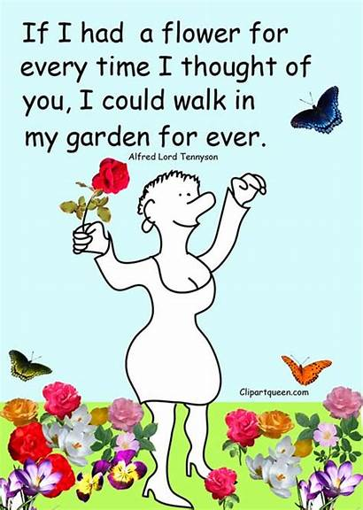 Quotes Funny Clipart Clip Flower Sayings Friends