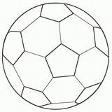 Ball Soccer Cartoon Cliparts Printable Coloring Pages sketch template
