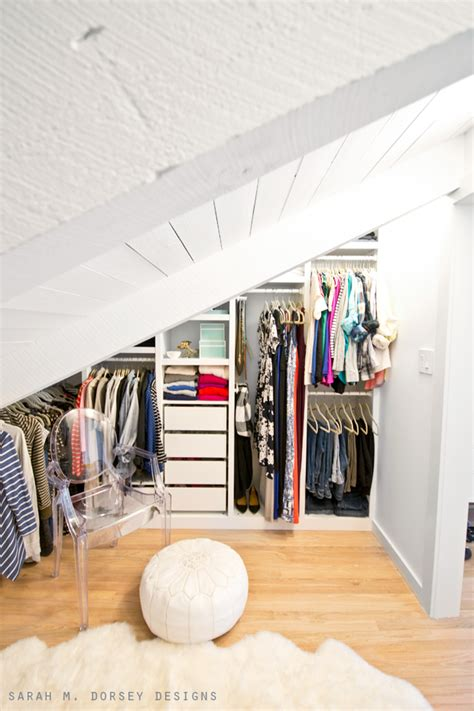 small walk in closet with sloped ceiling winda 7 furniture