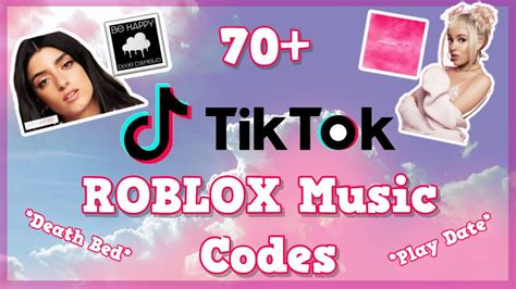 These roblox music ids and roblox song codes are very commonly used to listen to music inside roblox. 70+ ROBLOX : TikTok Music Codes : *SOME* WORKING (ID) 2020 ...