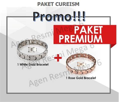 jual gelang kesehatan cureism cureism germanium bracelet original di lapak agen resmi mega 6
