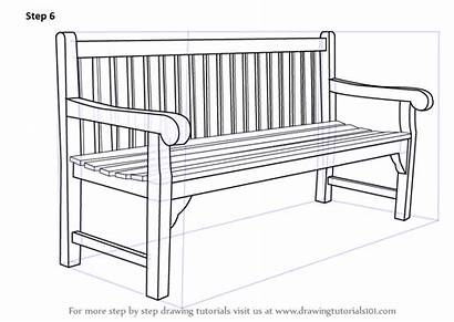 Bench Drawing Draw Step Chair Furniture Bag