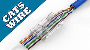 How To Make Cat-5 Cable    Network Wire