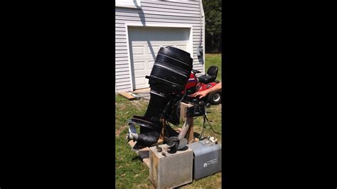 1986 mercury 90 hp 6 cylinder outboard