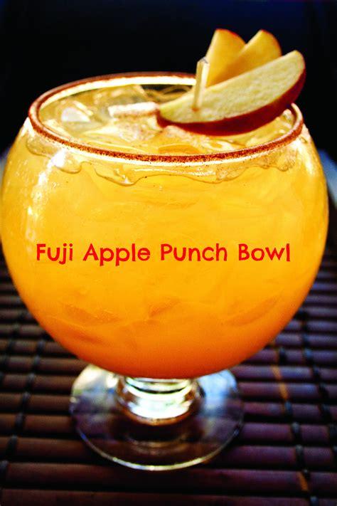 fuji apple punch bowl recipe