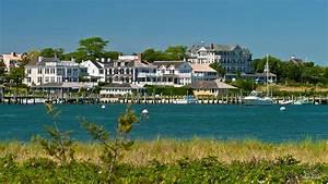 Edgartown Harbor Marthas Vineyard Massachusetts Photograph