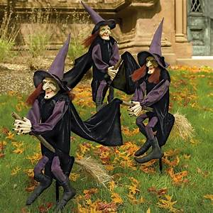 Staked, Yard, Witches