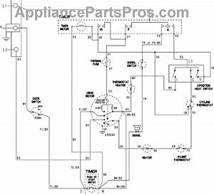 Parts For Maytag Mdet236ayw  Wiring Information Parts