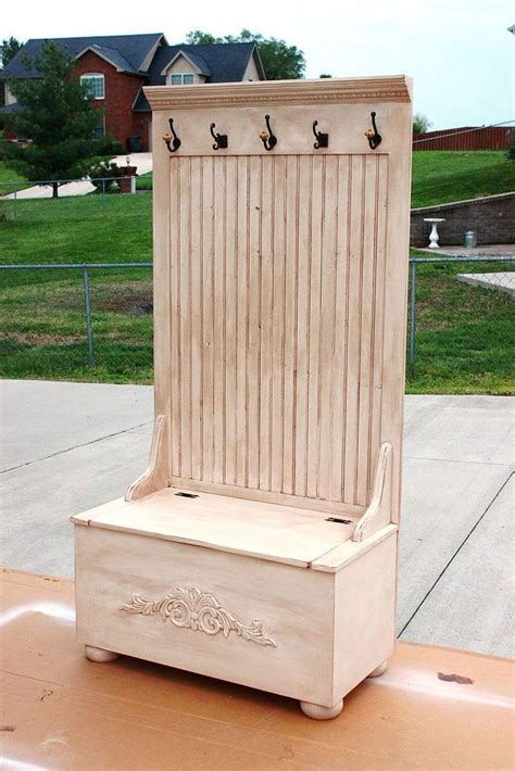 hall tree wood projects diy woodworking woodworking