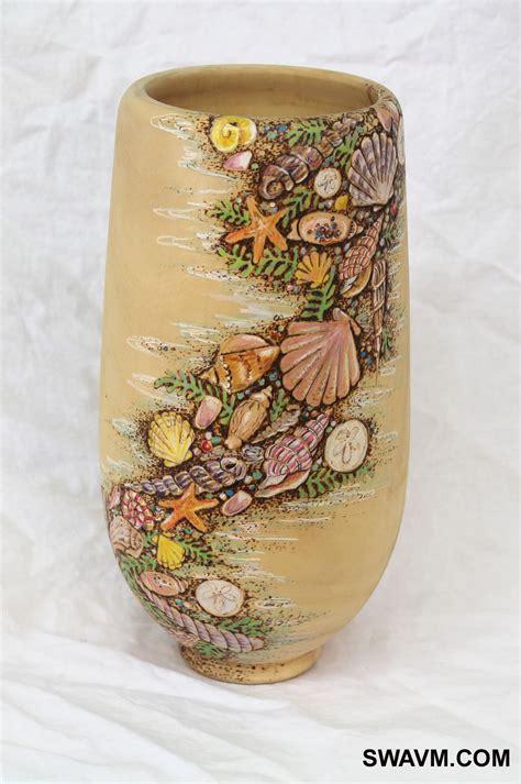 colored pencil vase swavm wood vases bowls plates