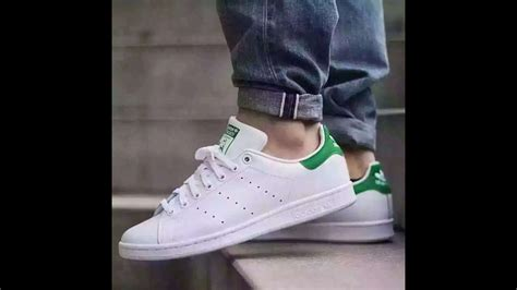 Adidas Stan Smith Shoes White/green Review