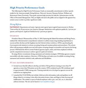 Annual Performance Report Template