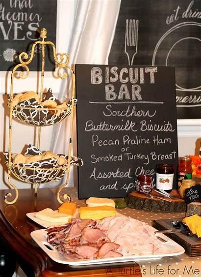 Shower Bridal Rustic Bar Biscuit Breakfast Brunch