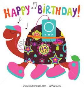 Happy Birthday Turtle Clip Art