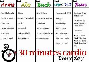 5 Day Workout Plan | Fitness | Pinterest | Get in shape ...
