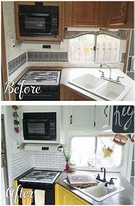 25 best ideas about rv remodeling on pinterest trailer for Kitchen colors with white cabinets with wagon wheel wall art