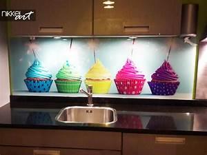 Crédence Cuisine En Verre Imprimé : cr dence de cuisine en verre imprim par rapport un ~ Edinachiropracticcenter.com Idées de Décoration