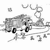 Coloring Fire Fireman Colorear Firefighter Printables Feuerwehr Dibujos Firefighters Ausmalbilder Truck Imprimir Firemen Sam Designlooter Bomberos Helpers Bombero Ausmalen Zum sketch template