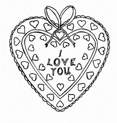 Coloring Heart Shaped Box
