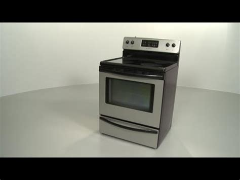 frigidaire electric stove oven disassembly range