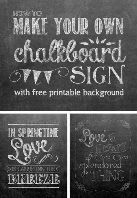 day  school  chalkboard printables
