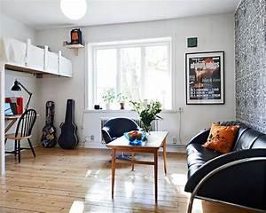 Very Cosy Studio Apartment Design - interior decorating ...