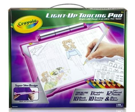crayola light up tracing pad pink gift guide for 2015 busy helper