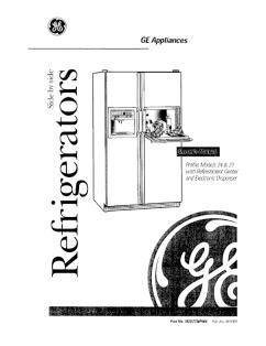 ge side  side refrigerator profile models