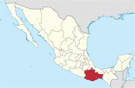 File:Oaxaca in Mexico.svg - Wikipedia