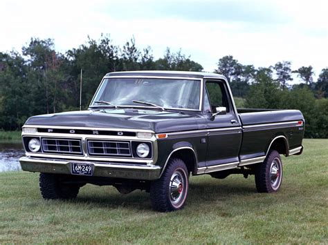 70s Ford Truck Wallpaper by 1976 Ford F 150 Ranger 4x4 Wallpaper 2048x1536