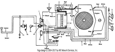 2002 Mtd Wiring Diagram by Mtd J C Penney 1860c Parts Diagram For Electrical