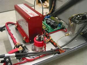 Drag Car Wiring Panel