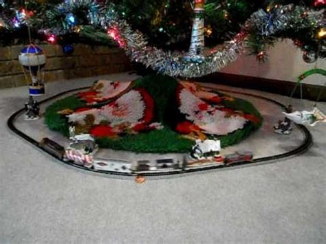 aromatic scale christmas trees bnsf santa claus express n scale tree during holidays