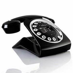 Telephone Sans Fil Vintage : t l phone dect sagemcom sixty sans fil noir avec ~ Teatrodelosmanantiales.com Idées de Décoration