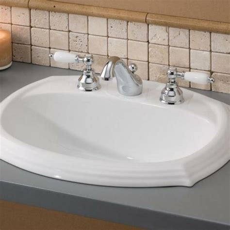 Drop In Sinks For Bathroom by Drop In Sinks Drop In Undermount Sinks Bathroom