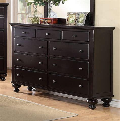Bedroom Furniture Dresser by Sommer Dresser Black Espresso Dressers Bedroom