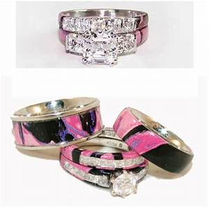 camo womens wedding rings set wedding inspiration With ladies camo wedding rings
