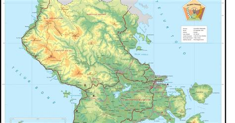 peta provinsi sulawesi tenggara sultra