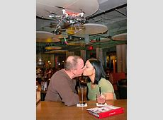 Drone strike! Our photographer injured by TGI Friday's