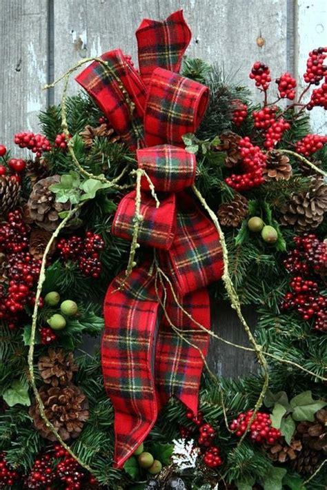 cozy plaid decor ideas  christmas digsdigs