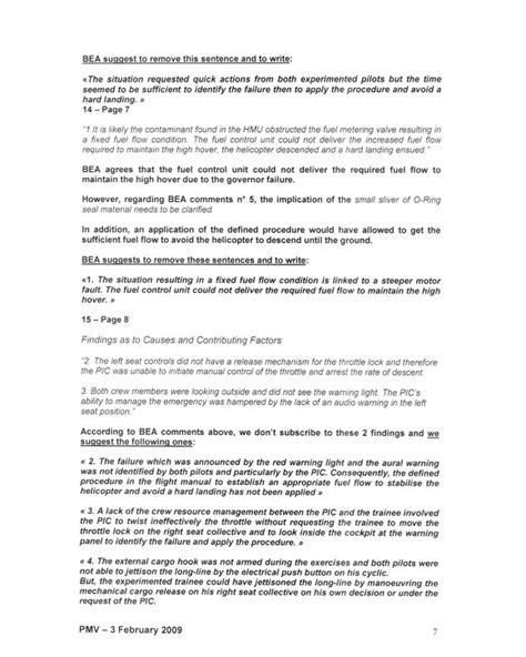 bureau d enqutes et d analyses bureau de la s 233 curit 233 des transports du canada rapport d enqu 234 te a 233 ronautique a08p0011