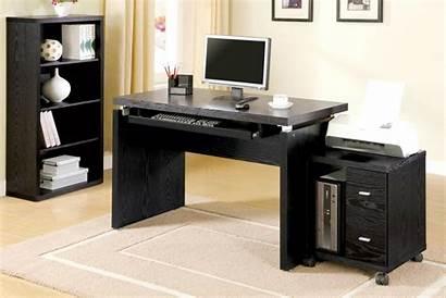 Desk Computer Wood Furniture Angeles