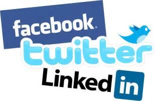 Social Media Facebook Twitter