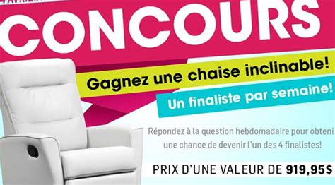 Gagner Une Chaise Inclinable