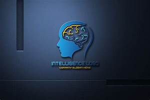 Free, Artificial, Intelligence, Logo, Design, Free, Psd, Template