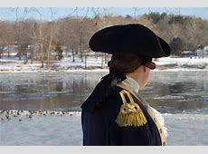 HIGH AND DRY Washington won't be crossing the Delaware on
