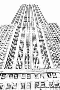 Sketch New York City Building Sketch New York City by ddfoto