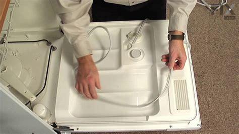 ge dishwasher repair replace  door gasket youtube